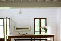 the interior of a country house / the interior of a country house