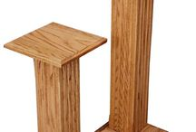 Pedestal tables / Add #elegance to any room with a luxurious #Pedestal table. These #handcrafted beauties are sure to set your space apart in style.