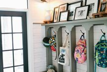 Mud room / by Alicia