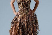 šaty recyklované