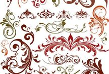 swirly designs