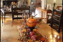 Fall winter decorations