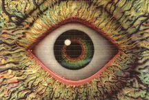 acid art / blotters and etc / by Hiroshi Neya