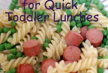 meals/snacks for kids