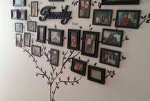 Porta retrato árvore familiar
