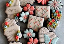 Cookie Ideas Extravaganza / Cookie Ideas for your party! Yummy, creative & beautiful cookie design ideas for your parties and events. #cookieideas #cookiepartyideas / by Seshalyn's Party Ideas