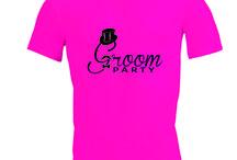 Vrijgezellenfeest T-shirts / Leuke ideeën voor vrijgezellenfeest T-shirts!