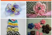girl hair bows / by Katie Whitcomb