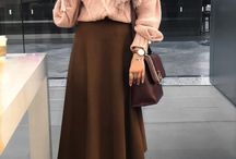 Hijab with Maxi Skirt