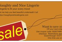 Coupons / Coupons available at Naughty and Nice Lingerie!