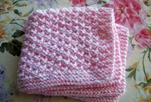 Baby blanket / Knitting