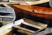 Art - boats