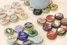 Bottle caps and crafts
