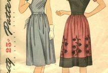 Sewing - Vintage Patterns