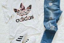Adidas Wearing