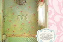 House decoration- colourful