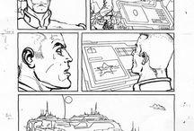 COMIC ART / Le mie tavole a fumetti