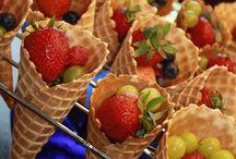 enfeites de frutas
