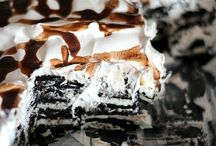 Oreo icebox bomb cake