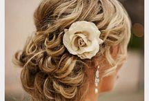 Wedding hair / Up do ideas