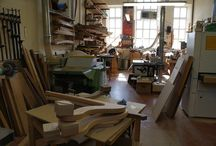 Harp making at Teifi Harps / How we make harps here at the the harp center of Wales