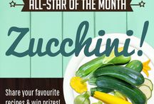 July all-star: Zucchini / Share your favourite recipes featuring our all-star of the month - zucchini - before July 30 for a chance to win great prizes! And don't miss our all-star announcements and Picks of the Month: sign-up for Live Green Toronto News to stay in the loop! Visit http://bit.ly/livegreennews today.