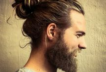 MAN BUN | BEARD | TATTOOED | LONG HAIR