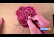Drawing / How to draw a rose