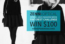 Zenni Optical Fashion Challenge / by Malea Lusa