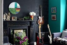 Colorful Interiors / A collection of colorfully vibrant interior environments. / by Letha Colleen