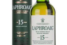 Laphroaig single malt scotch whisky / Laphroaig single malt scotch whisky