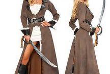 Disfraz mujeres piratas