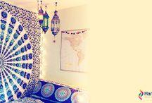 Tapestry , Beach Roundies , Wall Hanging   Sun Moon Tapestry