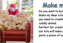Teddy Party Ideas / You can have lots of fun with a make a teddy bear party. Choose a theme and coordinate your games and food to match.
