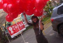 Доставка воздушных шаров / Кому на сегодня ярких и красивых воздушных шариков? Доставим в удобное время вам или адресату тел. 294-26-94 www.gidpopodarkam.ru
