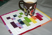 Mug rugs/placemats / by Robin Vrbas