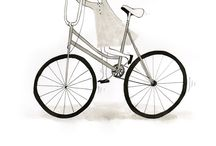 Les Storicyclettes par Gary Maël pour Lady Harberton / Lady Harberton s'associe à l'illustratrice lilloise Gary Maël pour raconter avec humour et poésie des instants de vie sur notre vélo en ville.