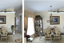 Andi & Miles Re-Design / Beautiful room with an Old Naples Style
