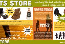 Boots Store / Visit this site http://www.bootsnclass.com/ for more information on Boots Store. The online Boots Store also offers many people the chance to enjoy cheaper prices on the items they are most in need of. This is considering that most of the stores offer sales and discounted items making it possible to buy what you desire most at a price that is most affordable for you. Follow Us: http://hi.im/ladieswesternwear