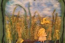 wool painting / by Iris Gal