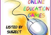 On-line games / by Lori Watkins