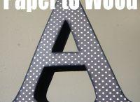 буквы и как их покрасить