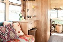 Not Your Grandma's RV / RVs that don't have wallpaper border and blah interiors. / by Kathy Harrison
