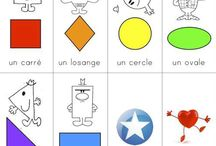 French - Vocab1 - Shapes/Colors/Numbers/Letters