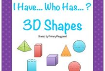 3 D shapes / by Lizbeth Guerra