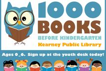 Upcoming Events at KPL / Here you can find pins for our upcoming events at the library!
