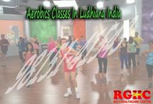 Aerobics Classes in Ludhiana / Best Aerobics classes are available at Rghc health centre, where  several health services are offering by the well experienced coach in Ludhiana