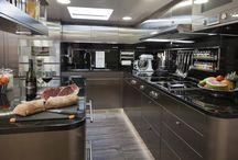 super yacht kitchen