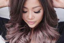 Hair colour options