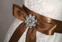 Barna, csokoládé esküvő - brown chocolate wedding